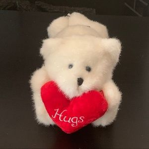 "Boyds ""Huggie"" Musical/Light Up Valentine Bear"